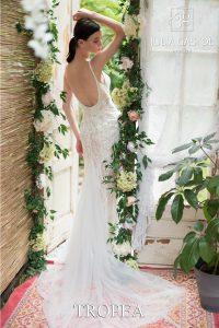 svatební šaty s nahými zády
