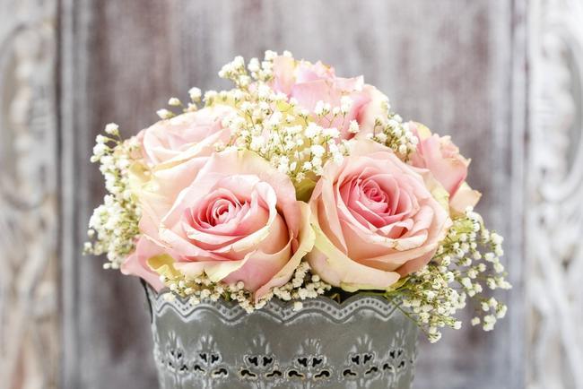 Nevěstin závoj na svatbě