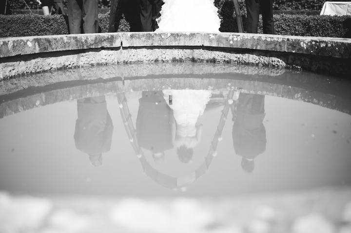 svatební focení, černibílé svatební fotky