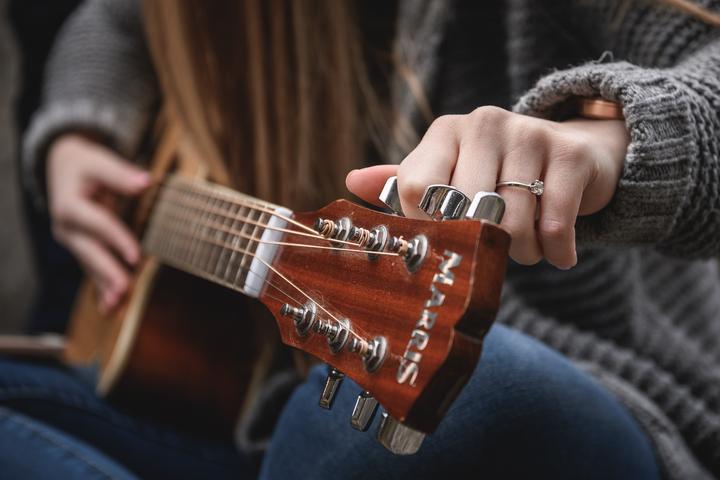 kytara a rande foto