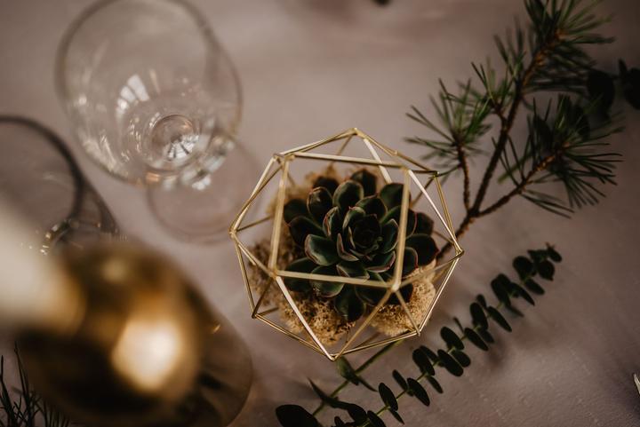 art deco vánoční svateb