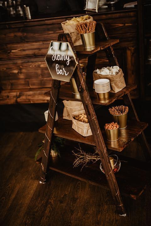 svatební slaný bar