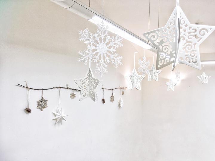 dekorace na vánoční svatbu