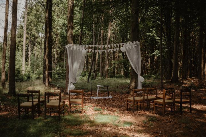 jednoduchý svatební altán