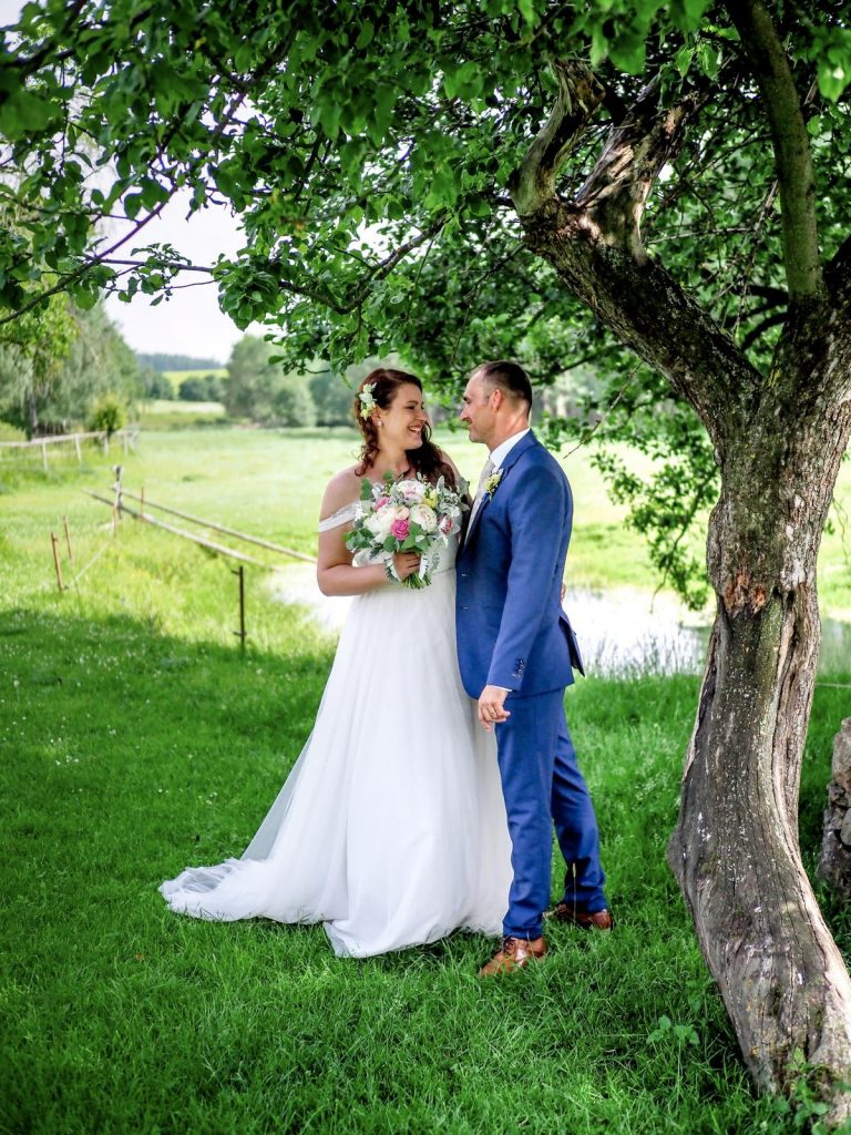 svatba na statku Opajda na Vysočině