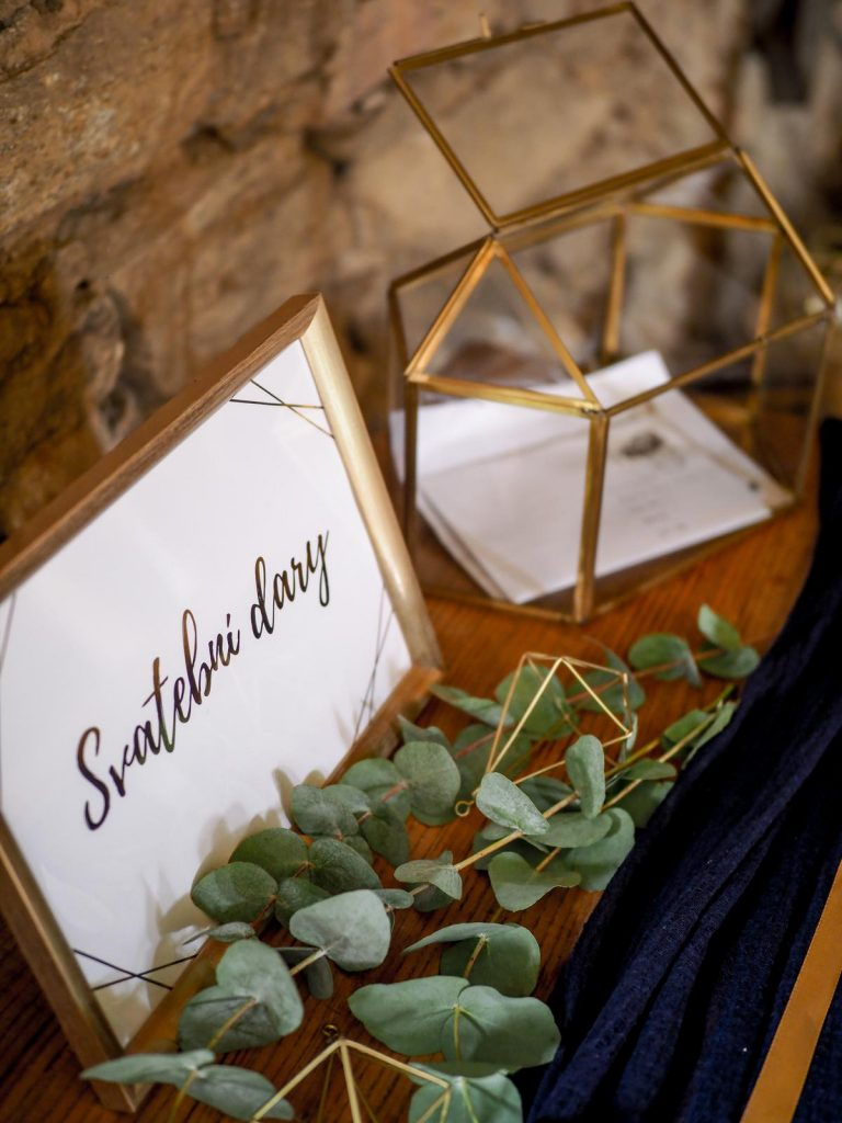 krabička na svatební dary