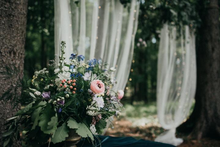 svatební altan slavobrána