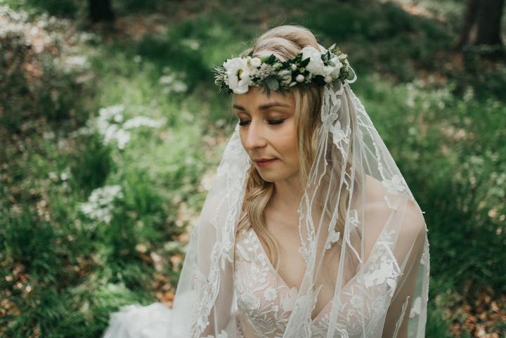 nevěsta jako víla
