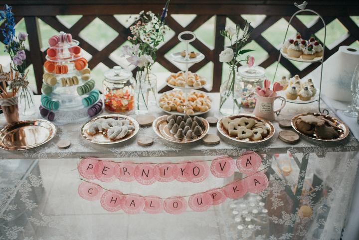 svatební candy bar