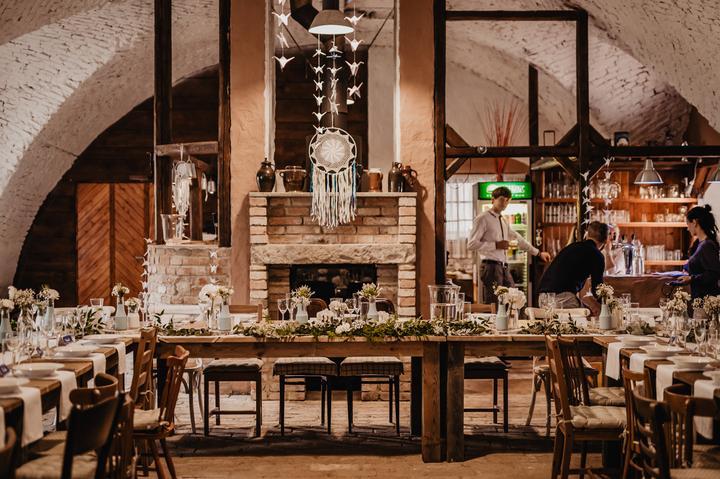 svatební hostina v Kamut Letovice