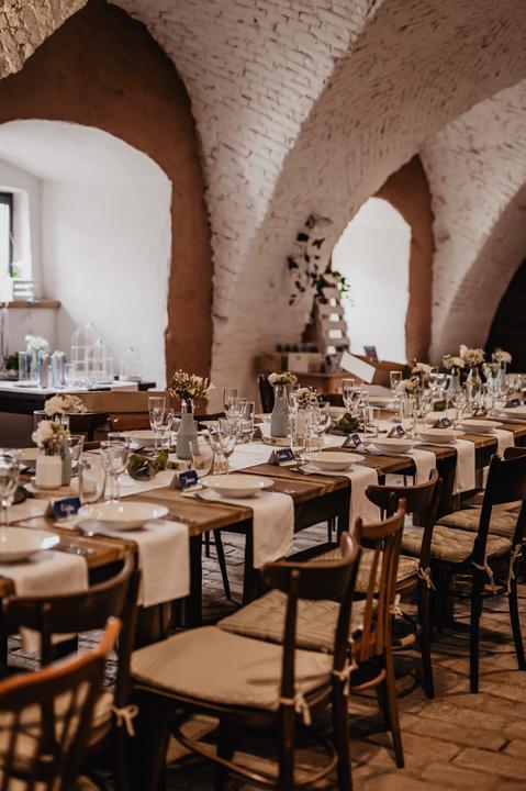 svatební výzdoba v Kamut Letovice
