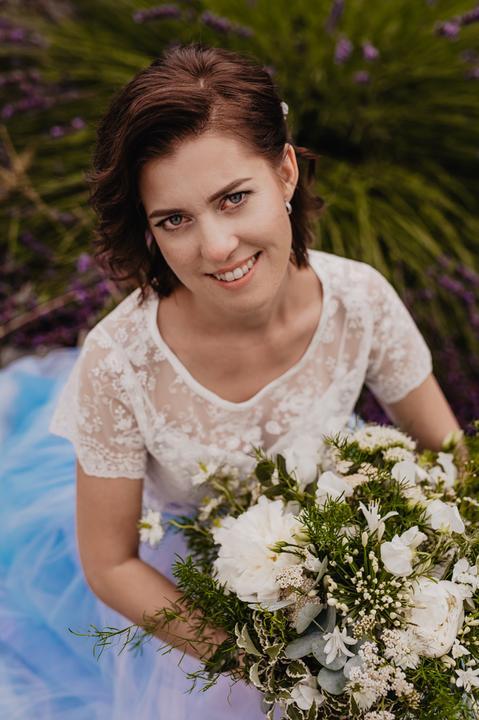 svatební make-up a vizáž