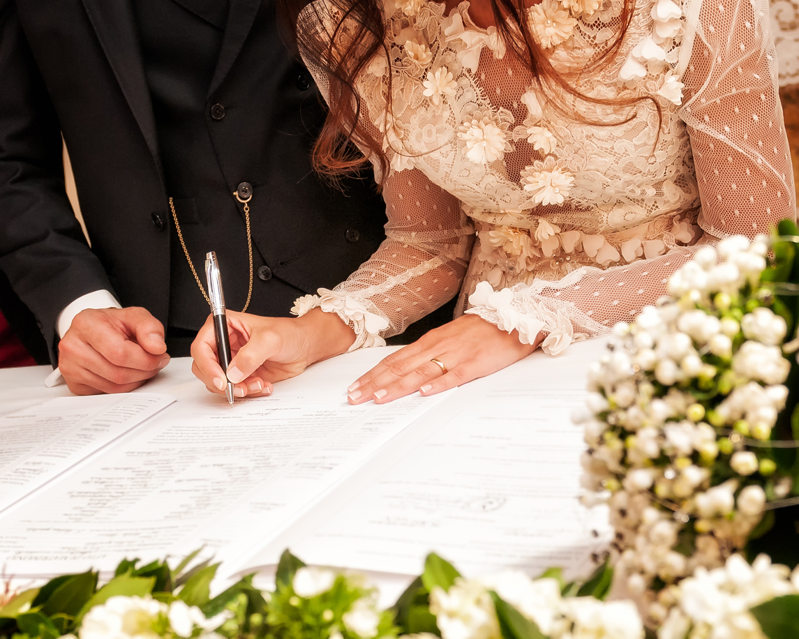 jak probíhá svatební den