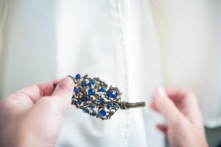 něco modré na svatbu