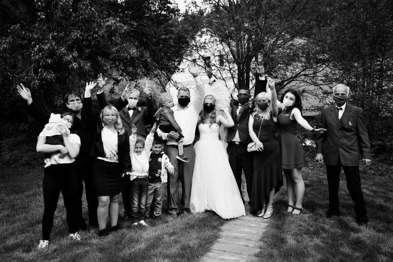 svatba v čase koronaviru