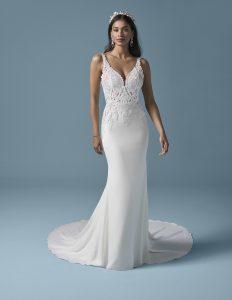 obepnuté svatební šaty