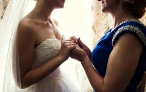 šaty pro svatební mámu