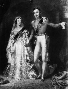 svatební šaty královny Viktorie
