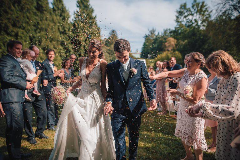 veselý svatební obřad